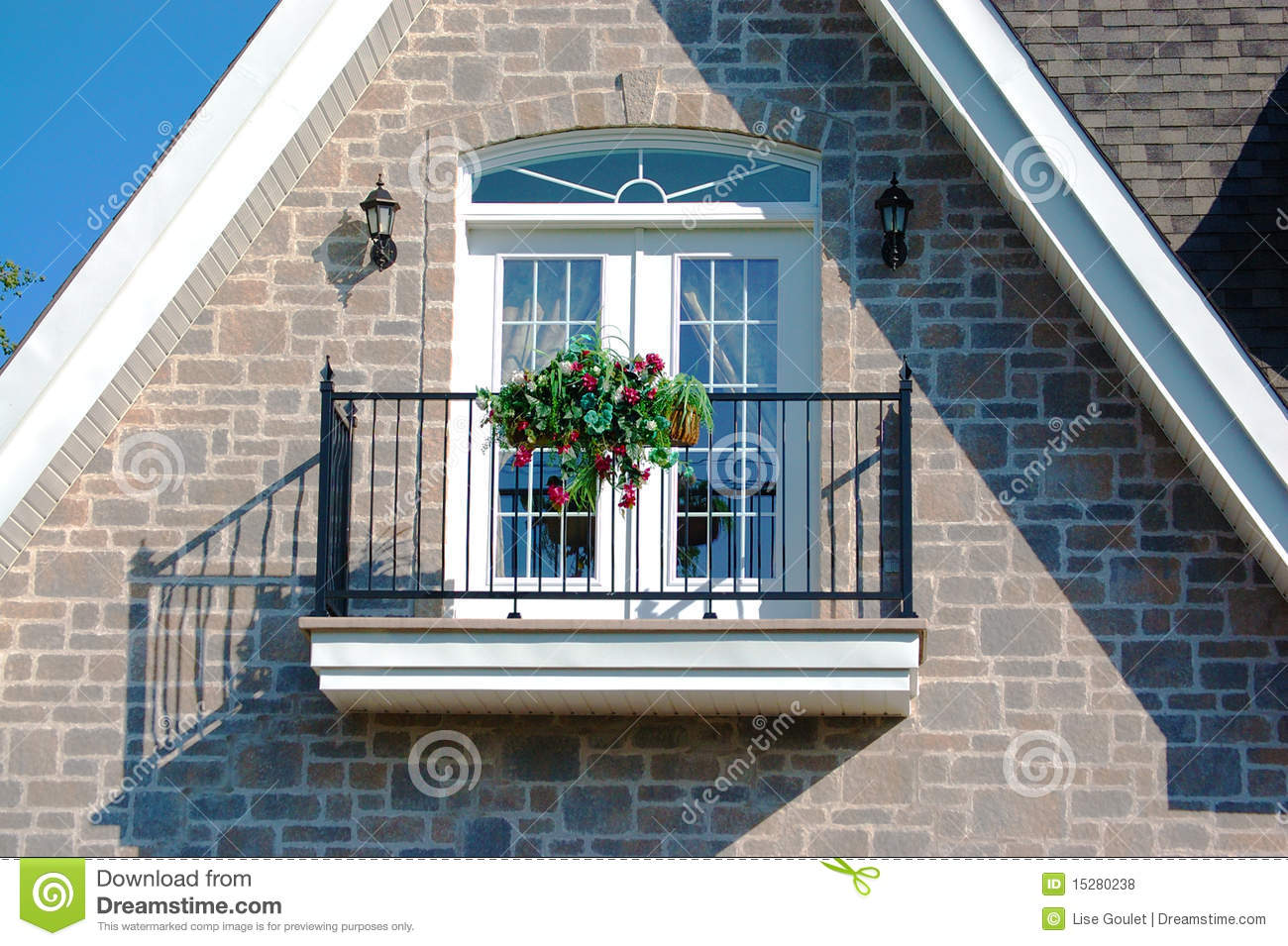 House balcony royalty free stock photos image 15280238 for Balcony of house