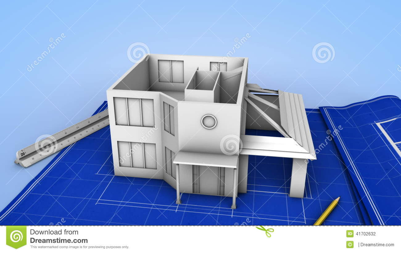 House being built on a blueprint stock footage video of house being built on a blueprint stock footage video of realization creation 41702632 malvernweather Images