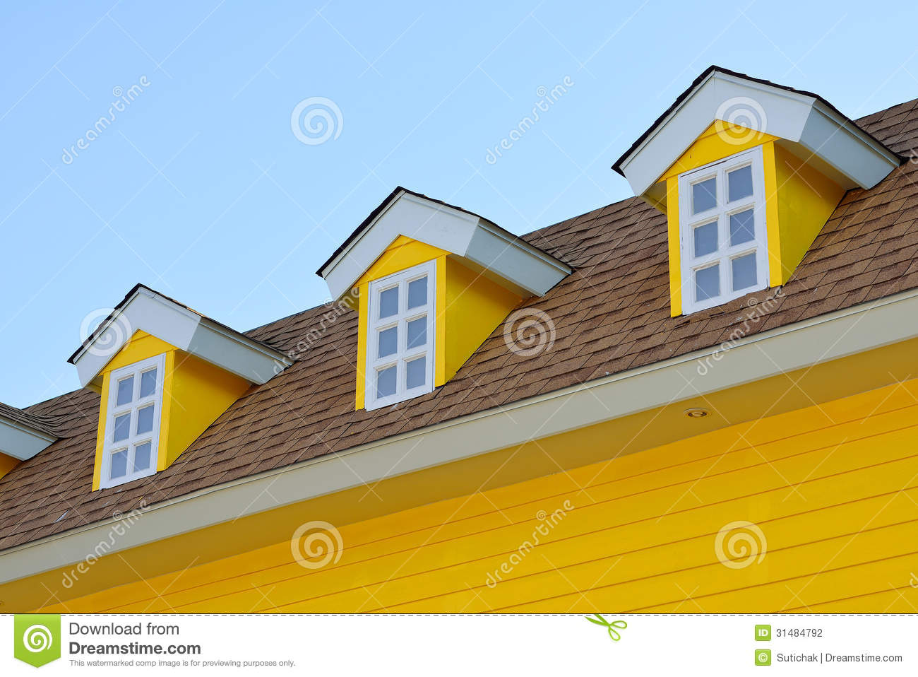 House And Blue Sky Stock Photo Image Of Future Bright
