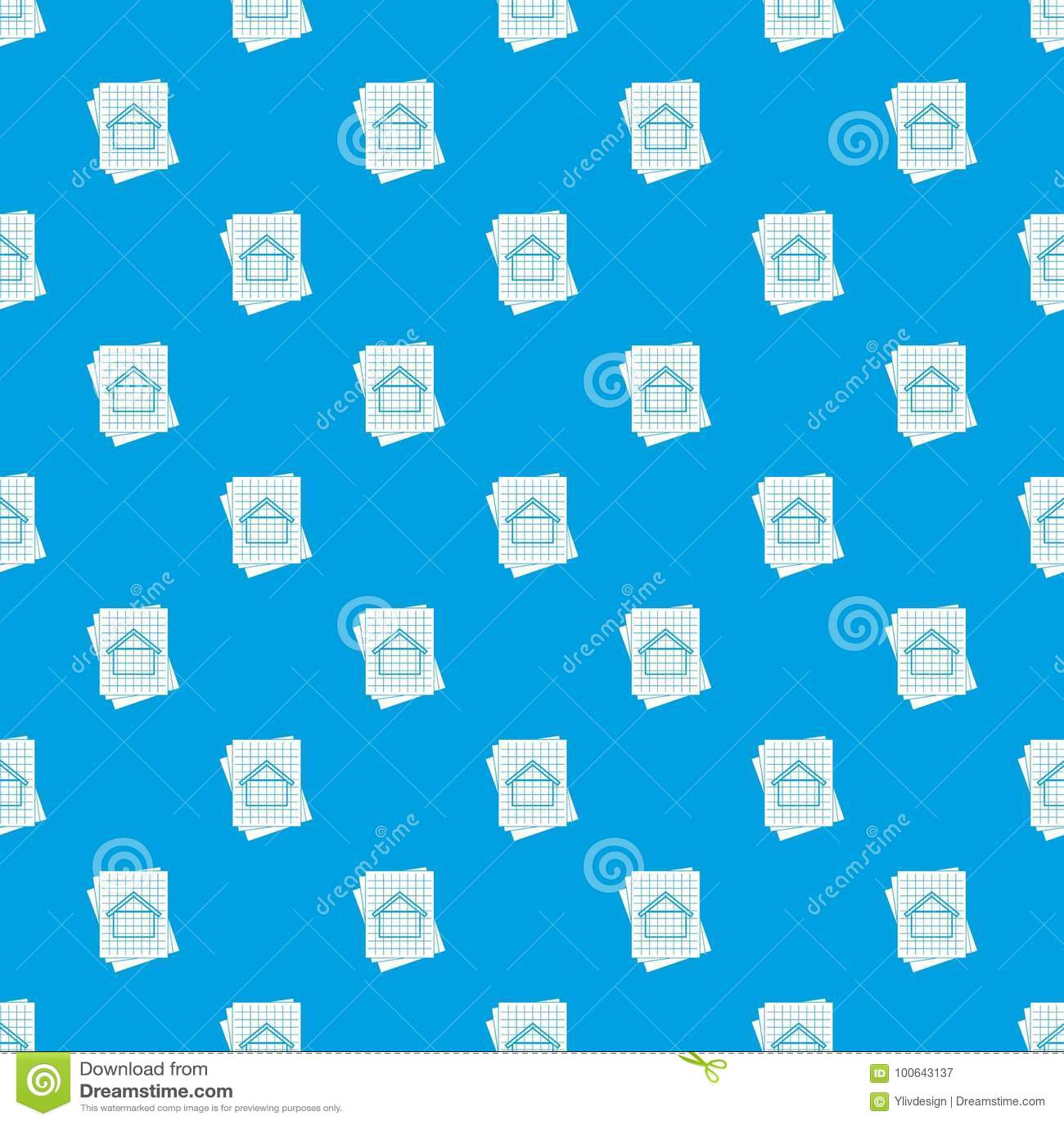House blueprint pattern seamless blue stock vector illustration of download house blueprint pattern seamless blue stock vector illustration of design blueprint 100643137 malvernweather Images