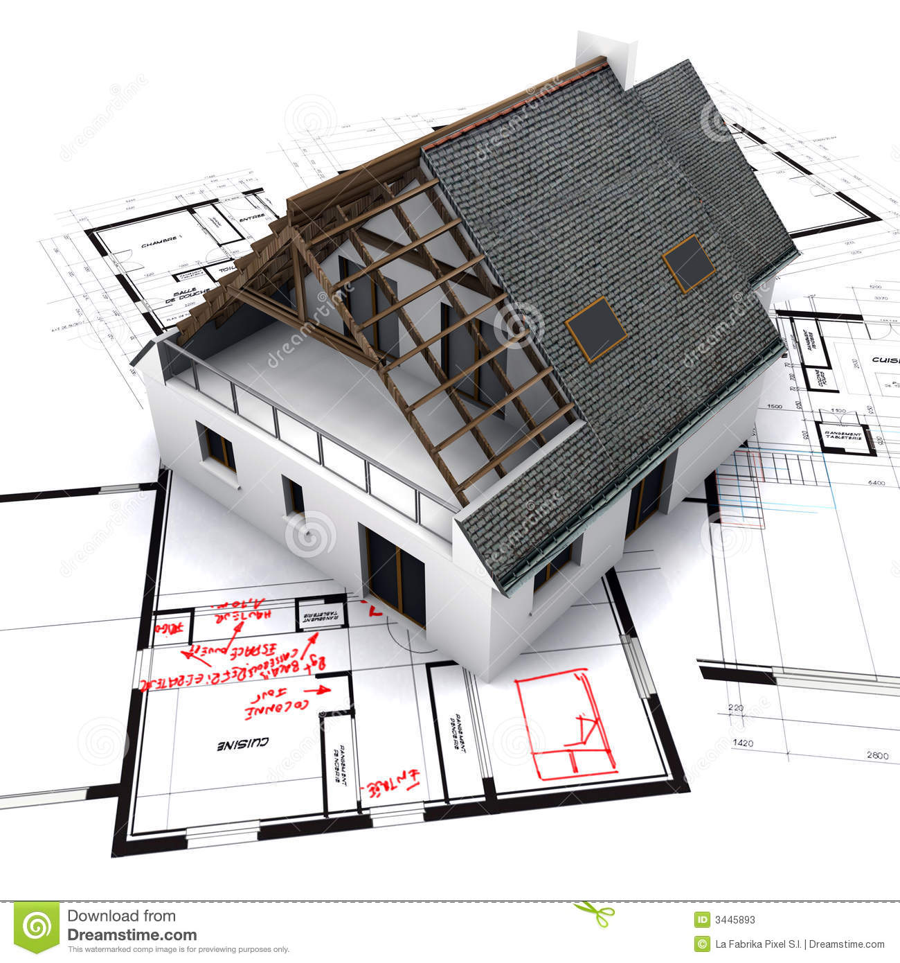 how to read house blueprints