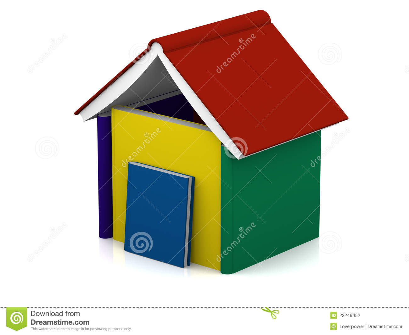 House Book Stock Photography Image 22246452