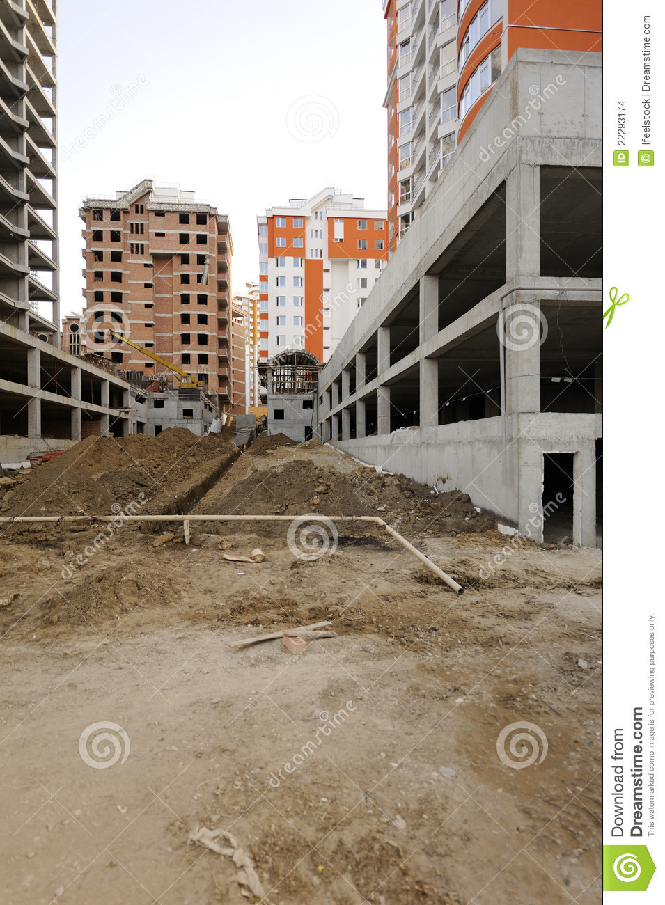 House building process stock images image 22293174 Home building process