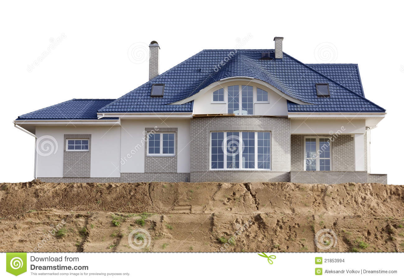 The House Built On Sand Stock Images Image 21853994