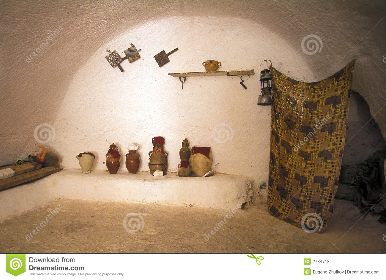 House in cave