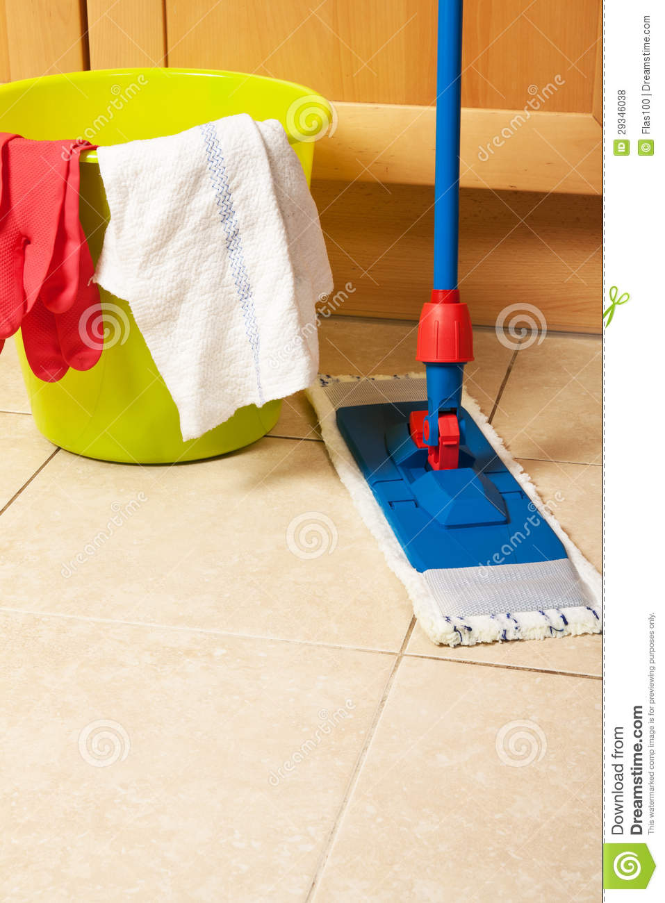 House cleaning with the mop royalty free stock photos for House cleaning stock photos