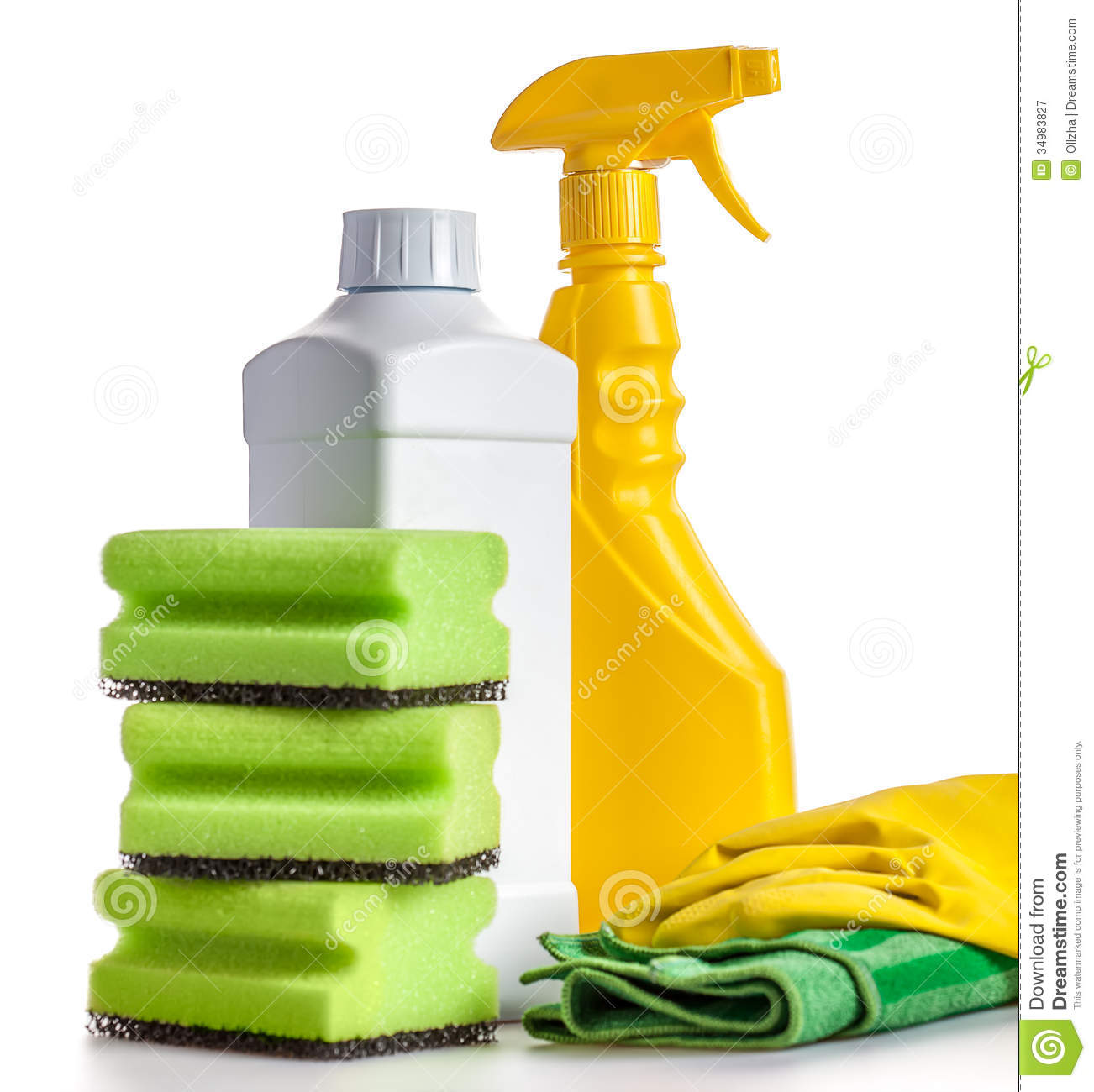 House cleaning tools stock image image of house for Free house photos