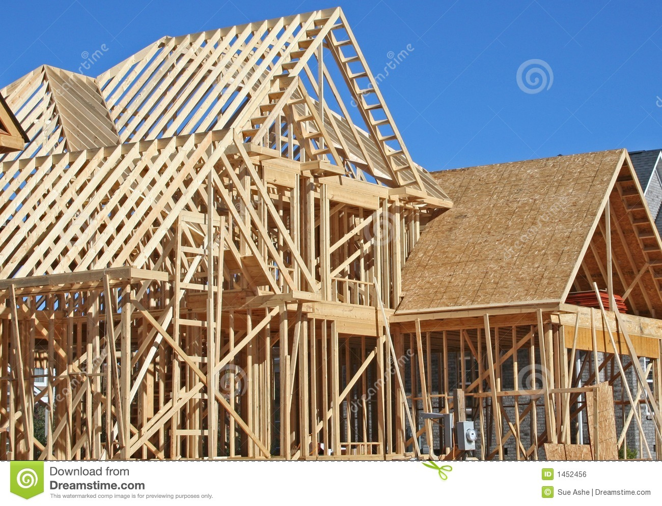 House construction royalty free stock image image 1452456 for House building contractors
