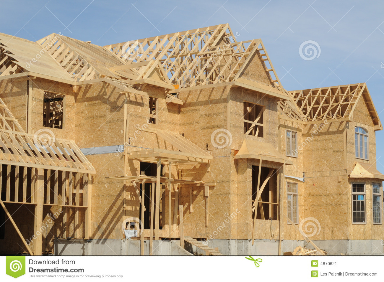 House construction stock image image of construction Home building contractor