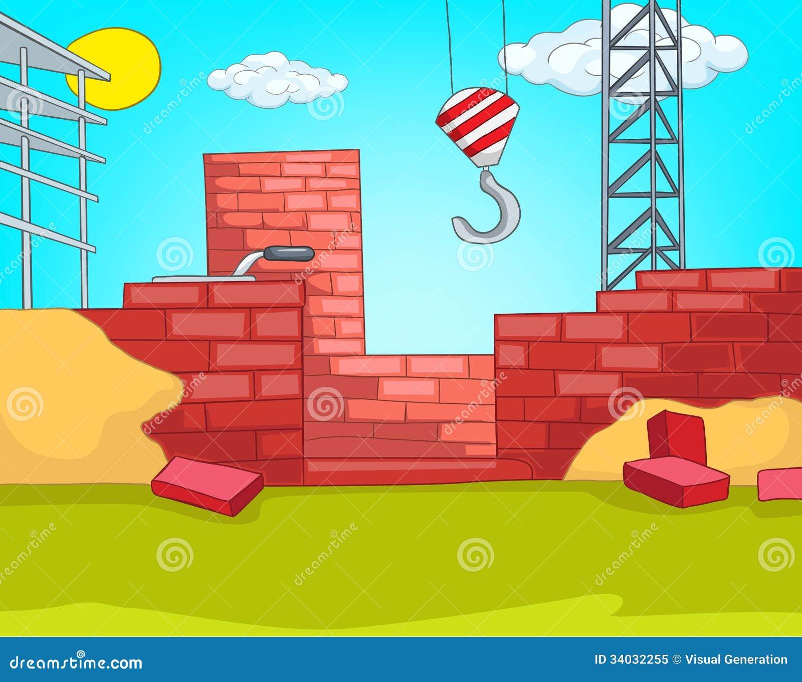 Building Construction Cartoon : Cartoon construction building pixshark images