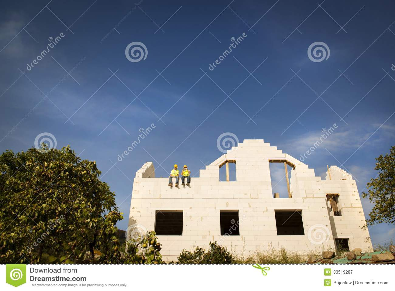House construction royalty free stock photography image for New house construction contract