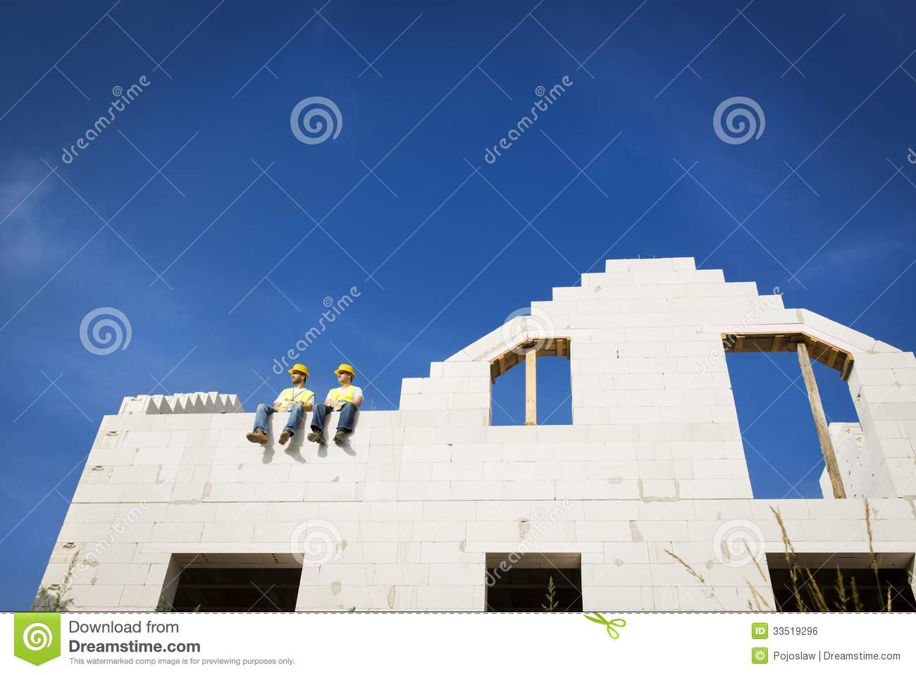 House construction royalty free stock image image 33519296 for New house construction contract