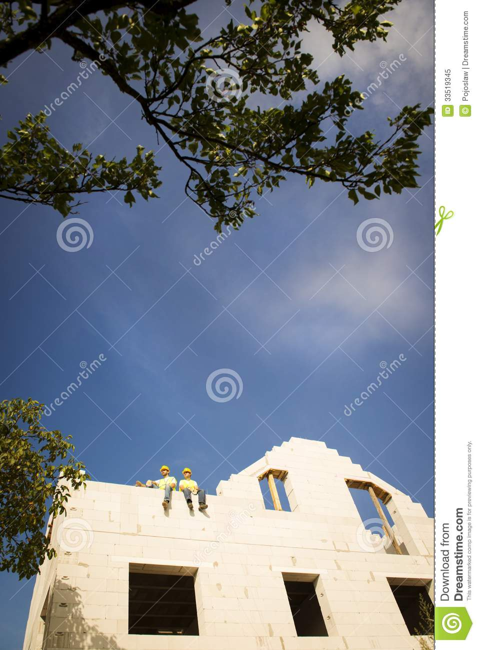 House Construction Royalty Free Stock Photo Image 33519345