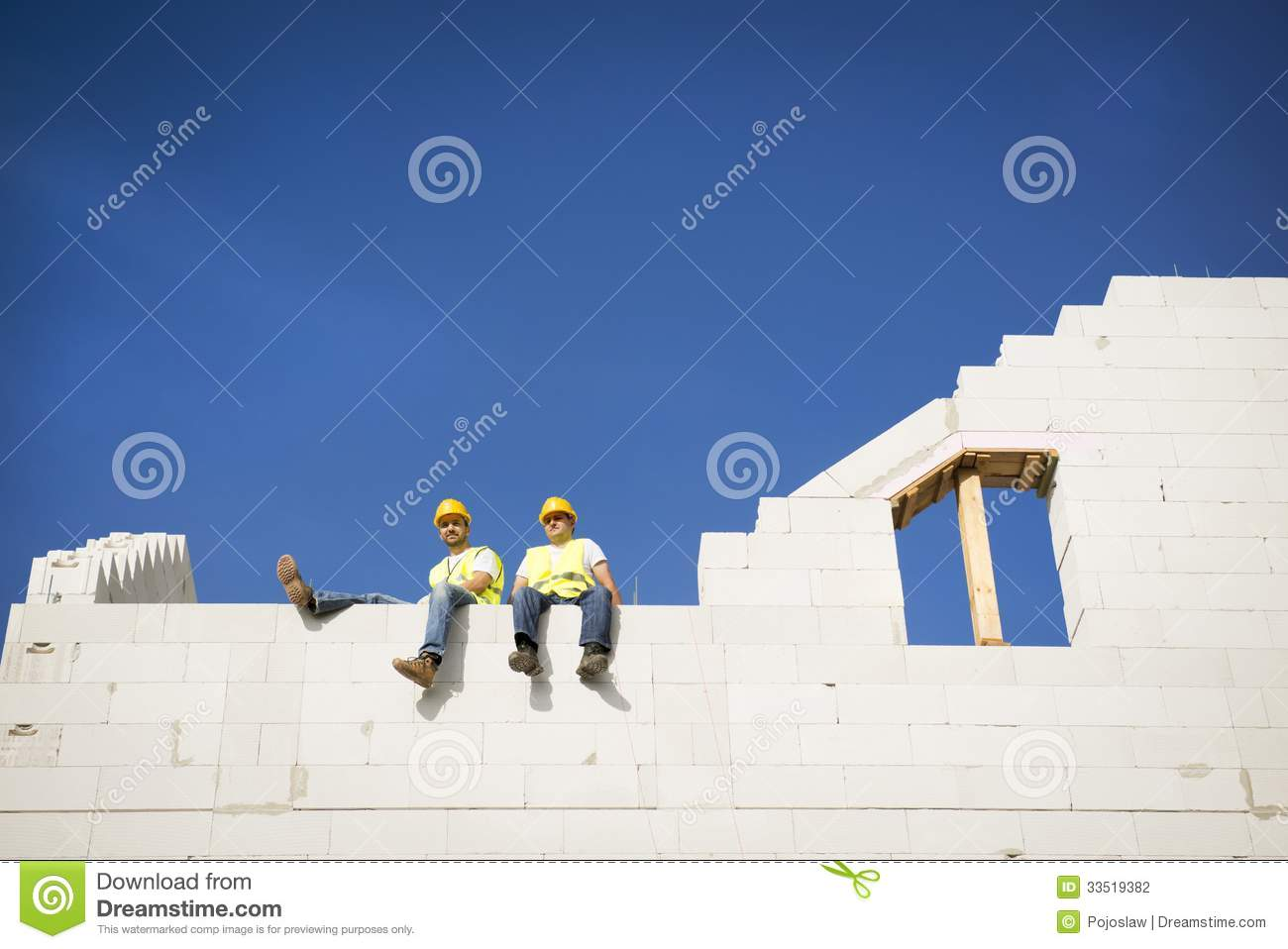 House Construction Stock Photography Image 33519382
