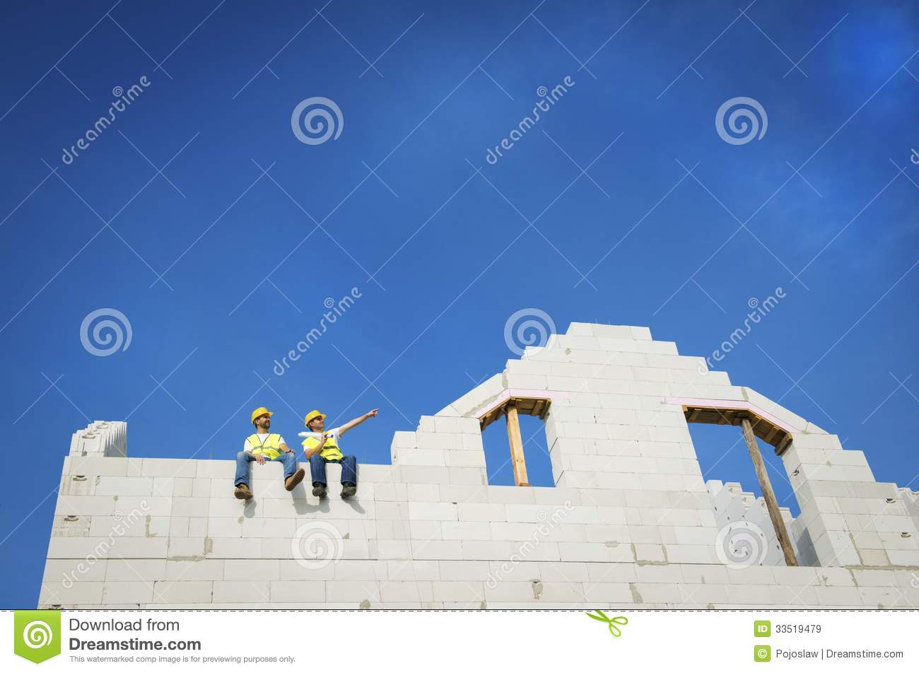 House construction royalty free stock images image 33519479 for New house construction contract