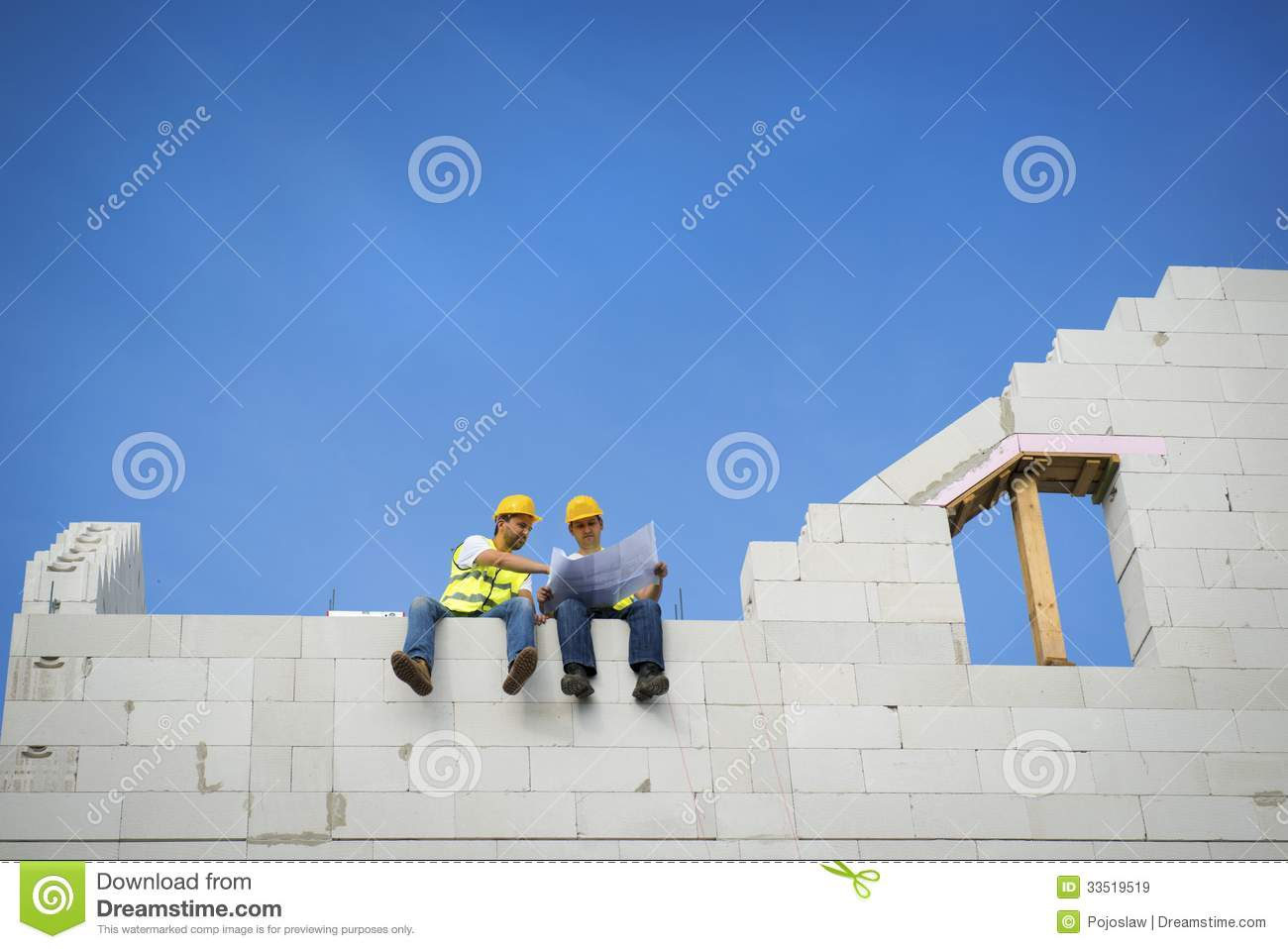 House construction royalty free stock images image 33519519 for New house construction contract