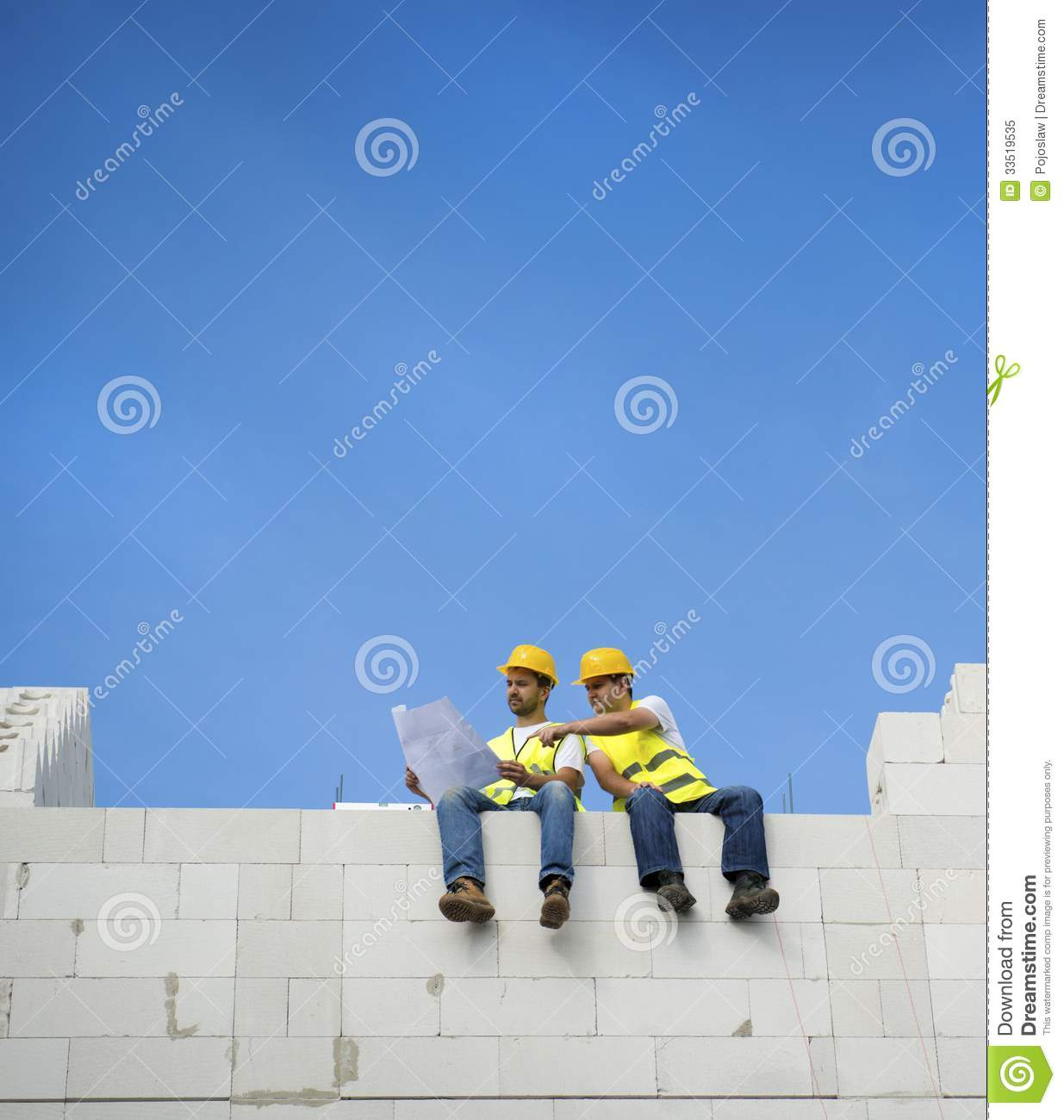 House construction royalty free stock photo image 33519535 for New house construction contract