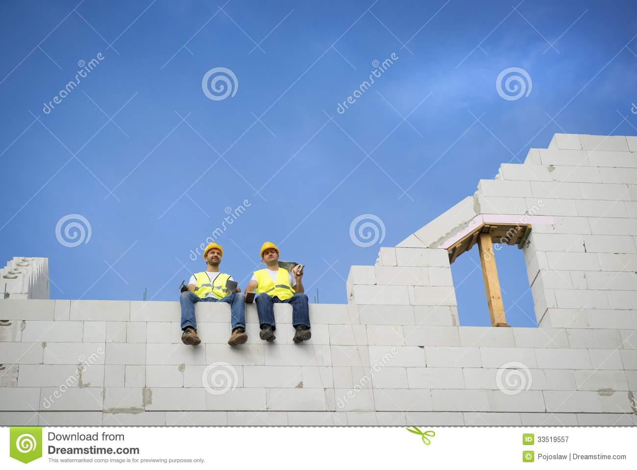 House Construction Royalty Free Stock Photography Image