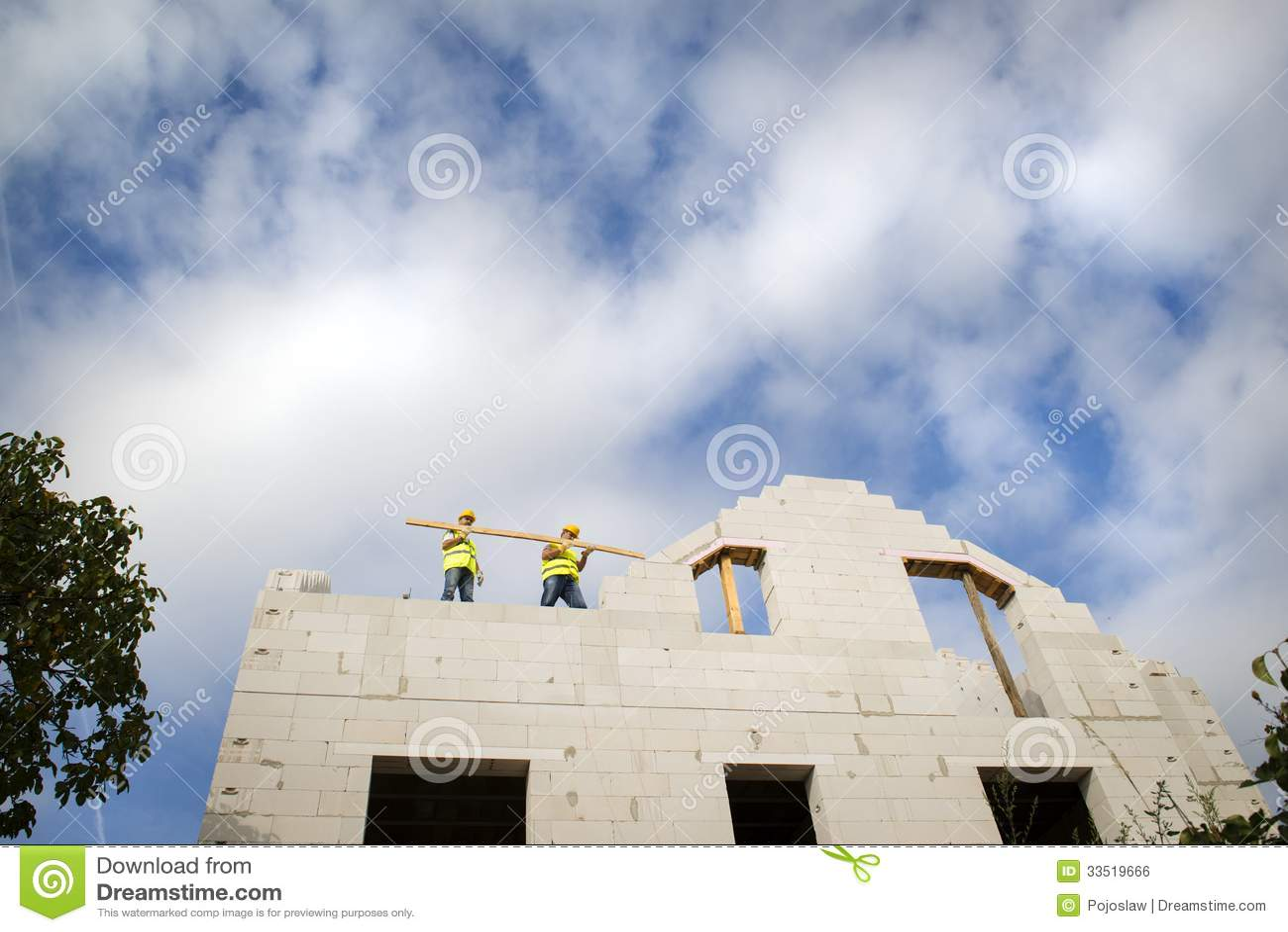 House Construction Royalty Free Stock Image Image 33519666