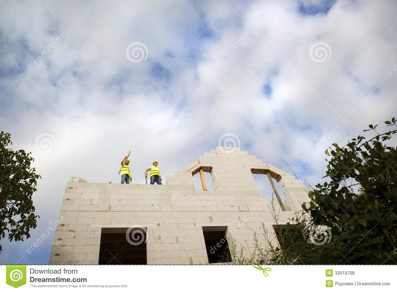 House construction royalty free stock photos image 33519708 for New house construction contract
