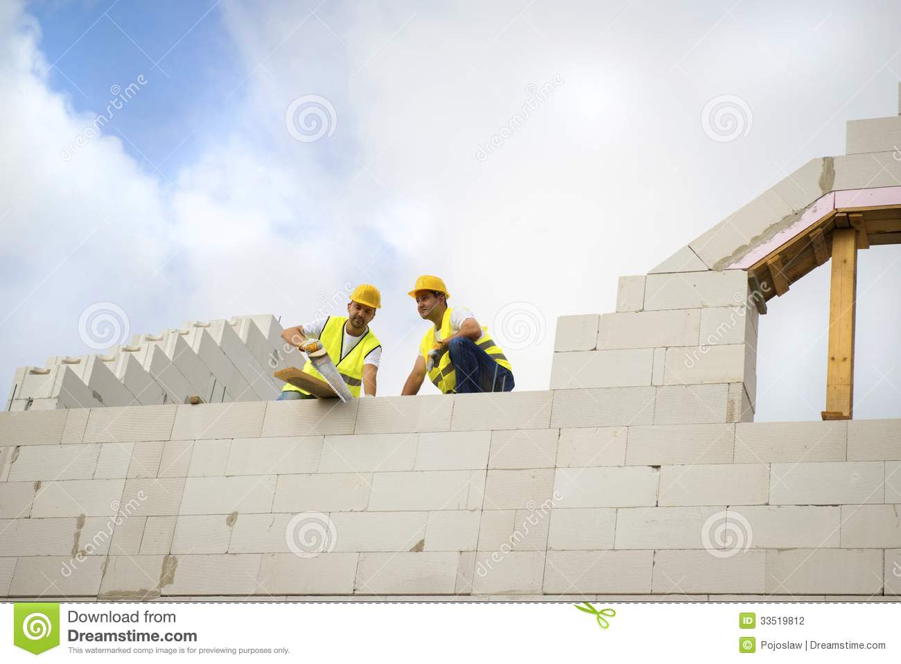 House Construction Stock Photography Image 33519812
