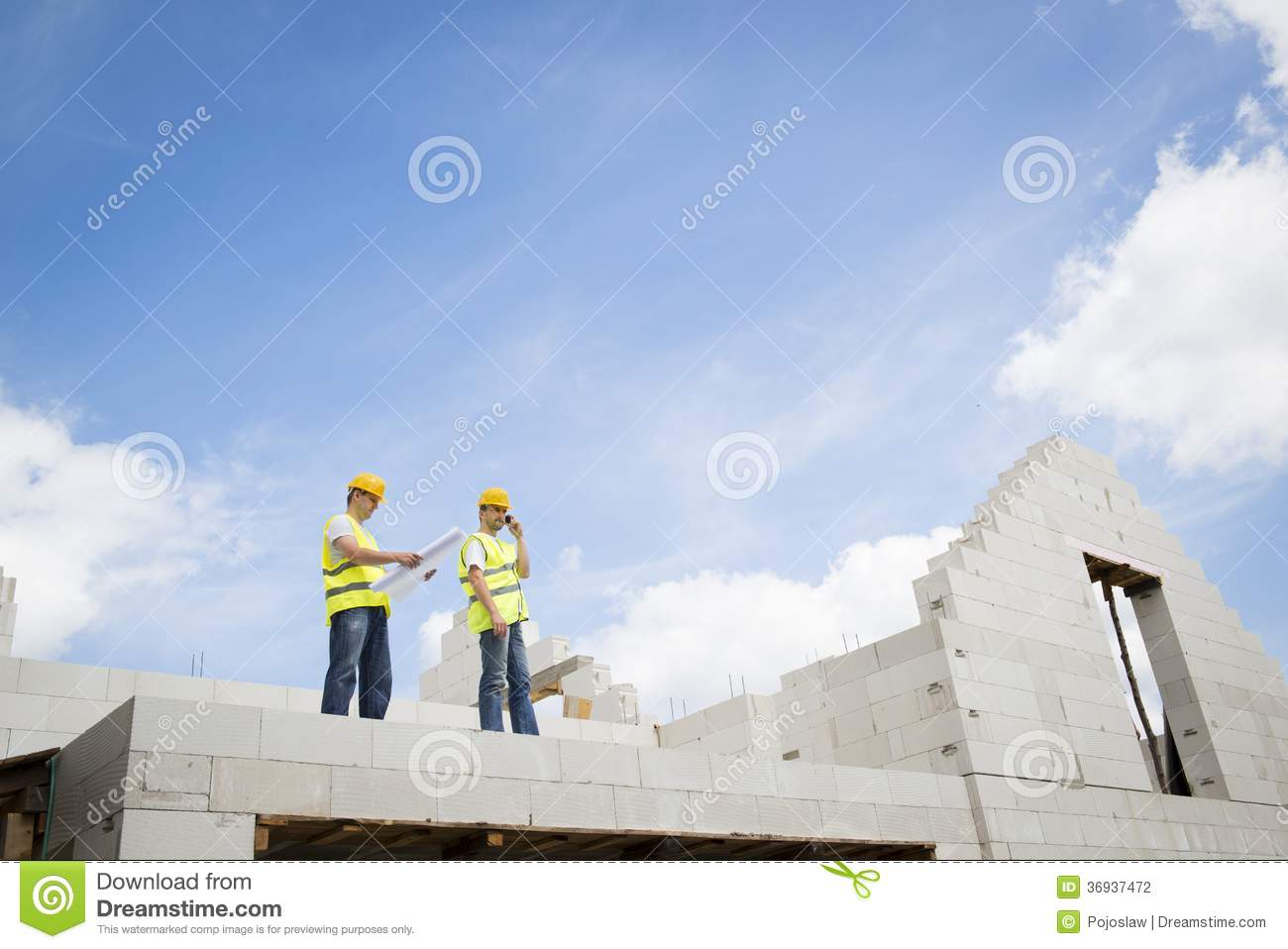 House Construction Stock Photography Image 36937472