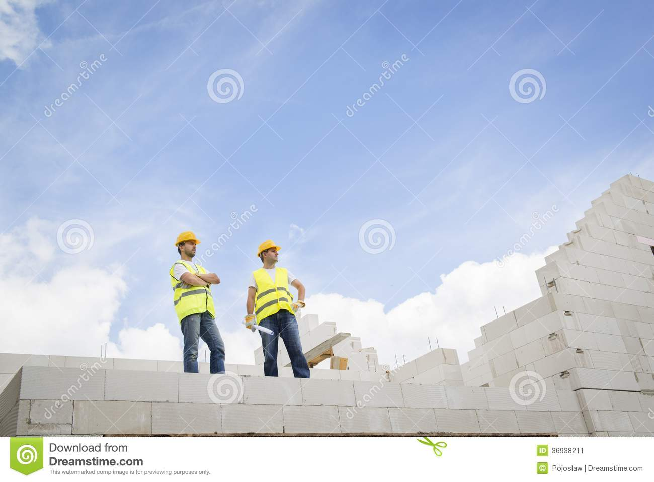 House construction stock image image 36938211 for New house construction contract