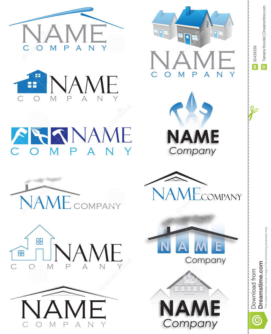 House construction logo royalty free stock image image for House construction companies