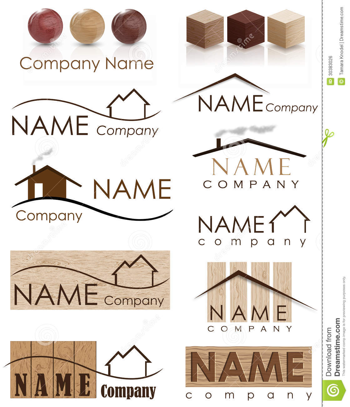 House construction logo stock illustration illustration for Free home builder