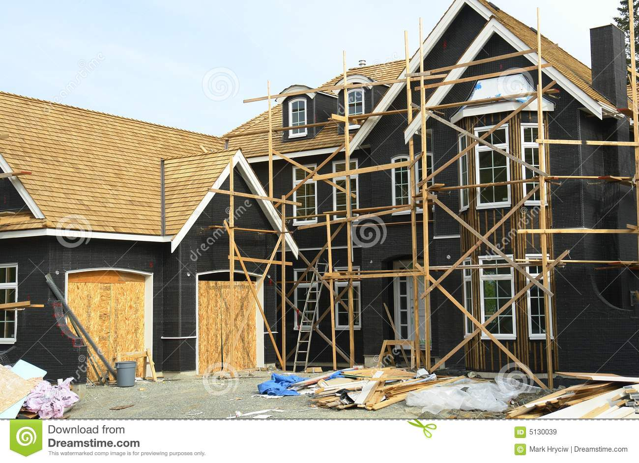 House Construction Site Royalty Free Stock Images Image