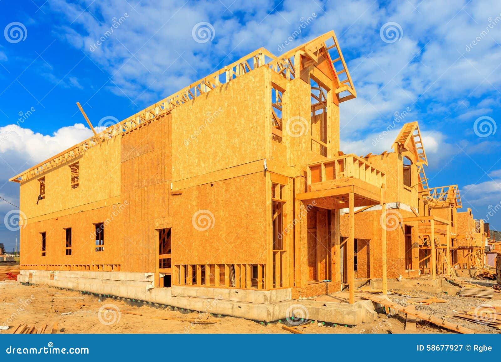 House Construction Stock Photo Image 58677927