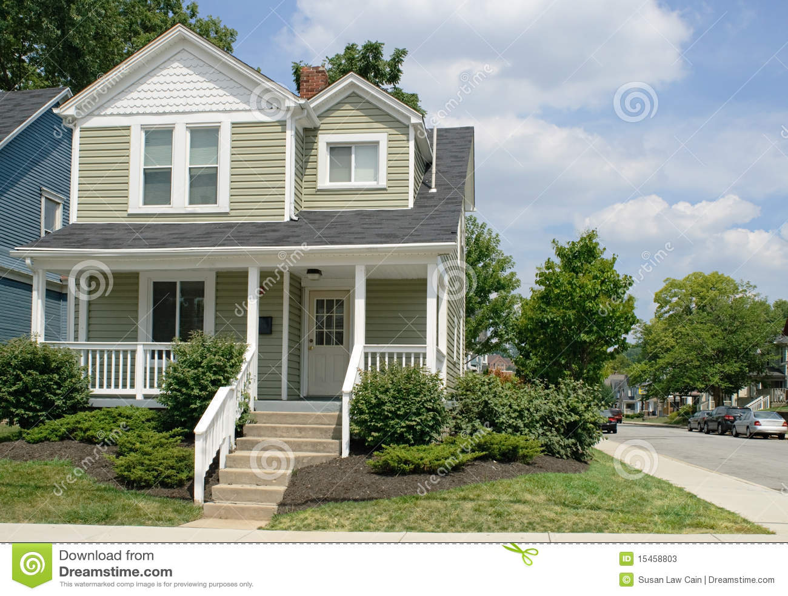 House on Corner
