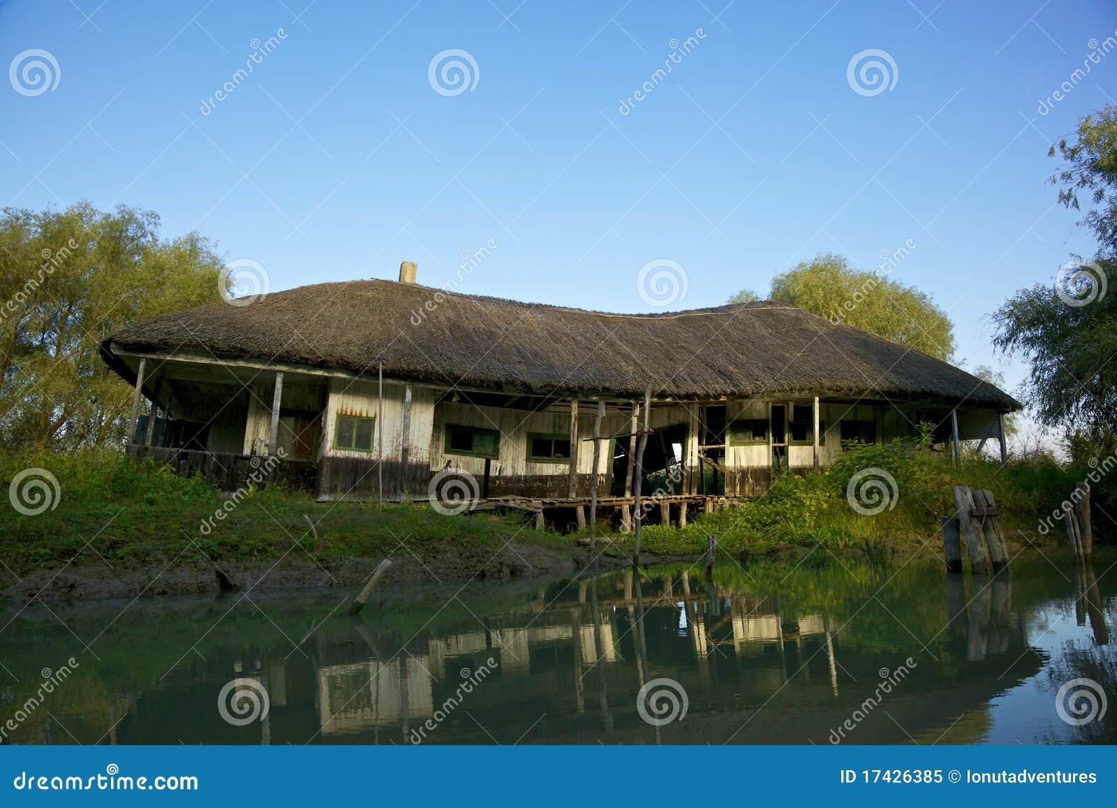 House in Danube Delta, Romania