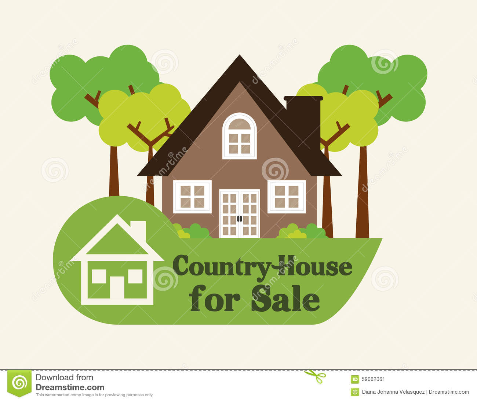 House design stock vector image 59062061 for Digital house design