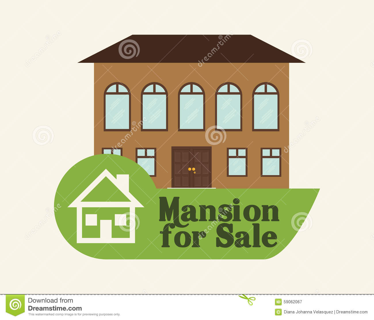 House design stock vector image 59062067 for Graphic design house