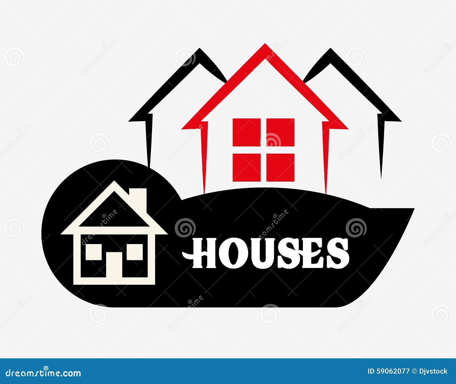 House design stock vector image 59062077 for Digital home designs