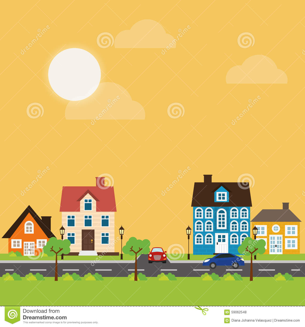 House design stock vector image 59062548 for Digital house design
