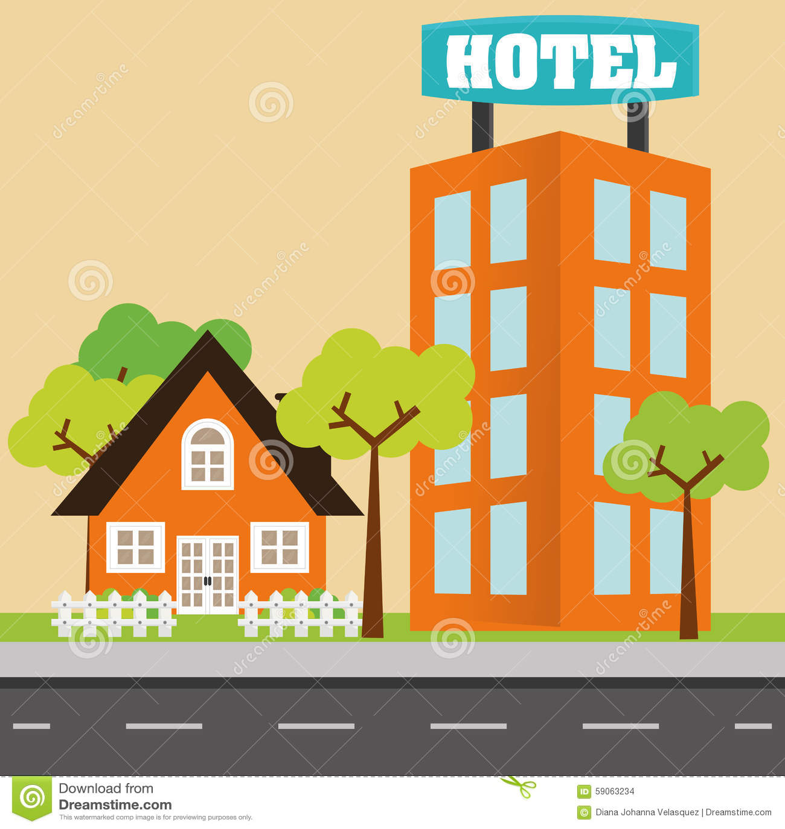 House design stock vector image 59063234 for Digital house design