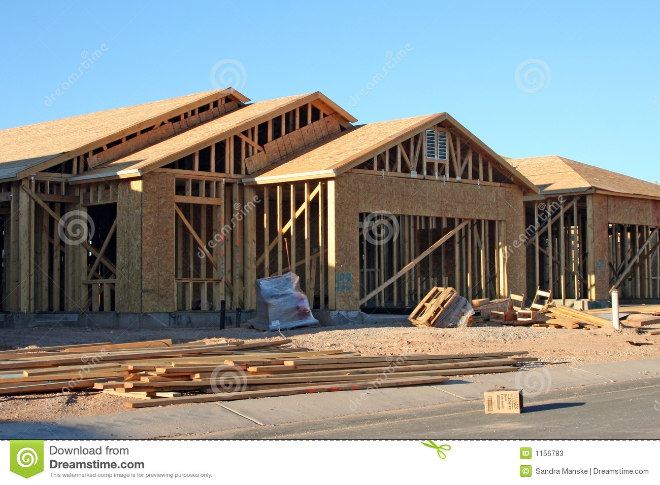 House Development Stock Photos Image 1156783