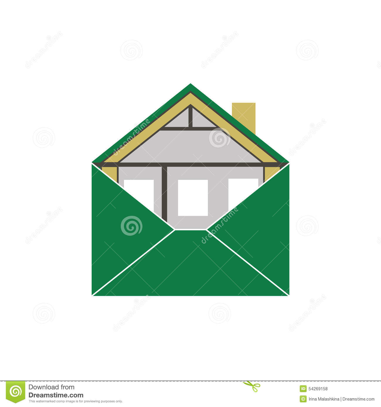 House eco green building envelope symbolic allegorical for Green energy efficient homes