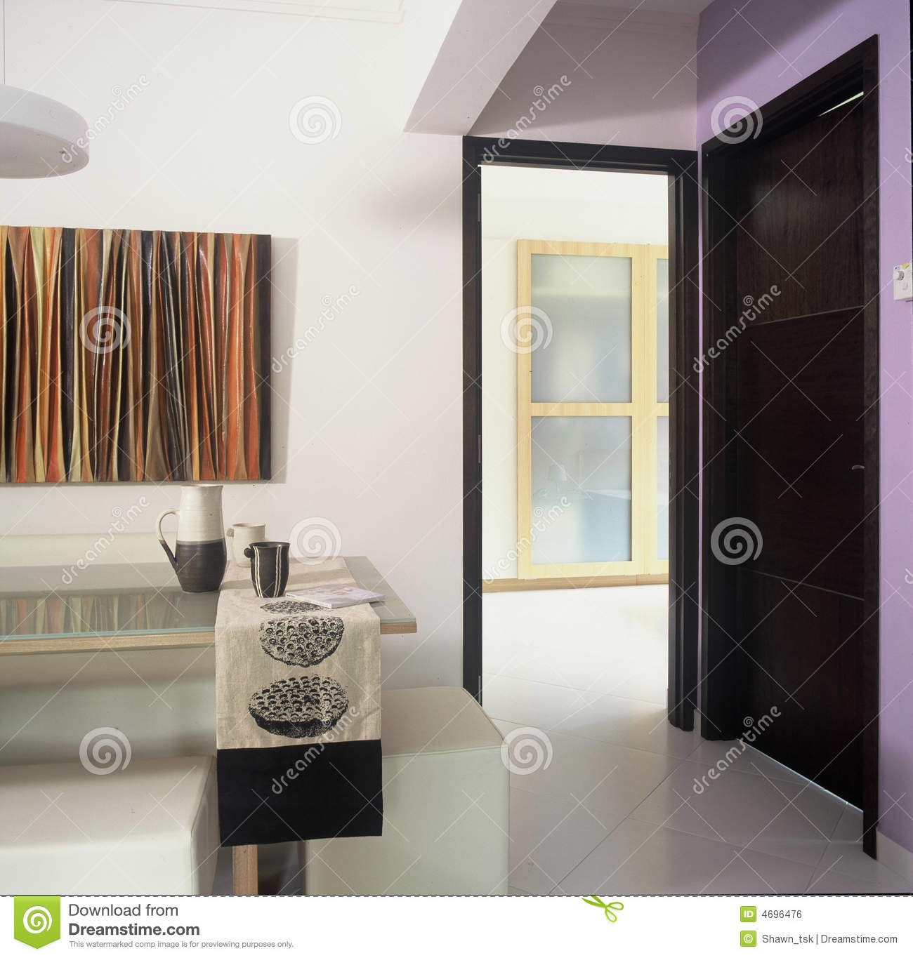 House entrance foyer royalty free stock image   image: 4696476