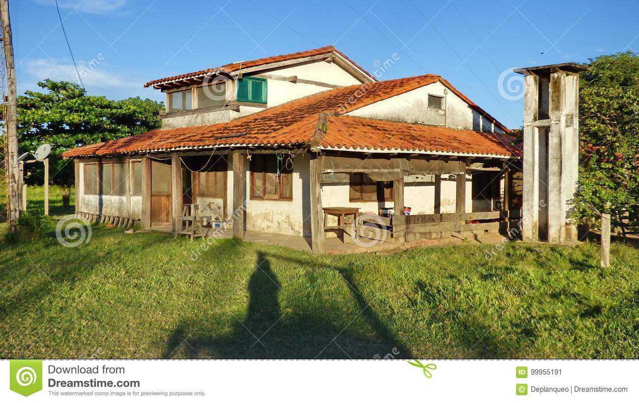 Gaucho House On Estancia Royalty Free Stock Photography