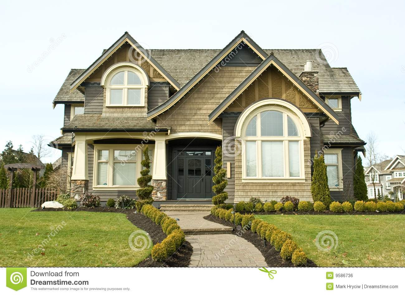 House exterior royalty free stock image image 9586736
