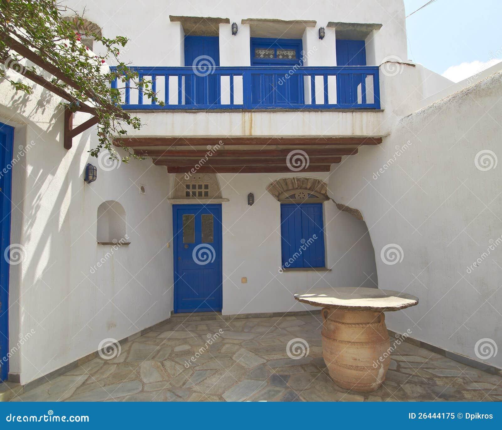 Tinos Island House Animals