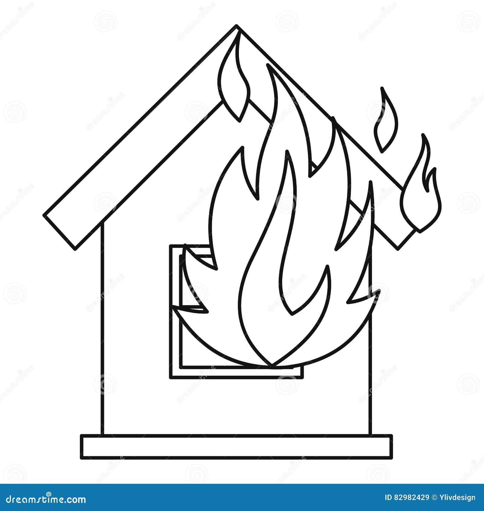 Color Page Building A House