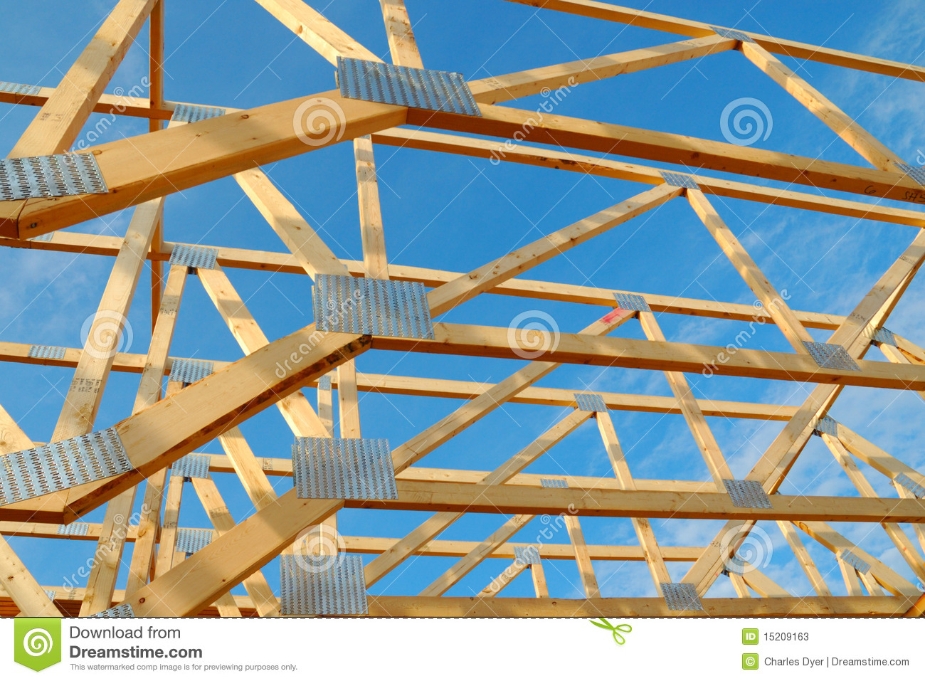 House framing stock image image of building frame for What is a frame home