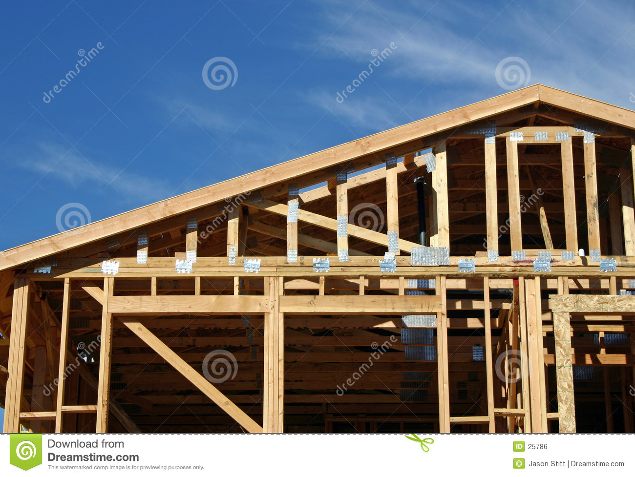 House framing royalty free stock image image 25786 for What is a frame home
