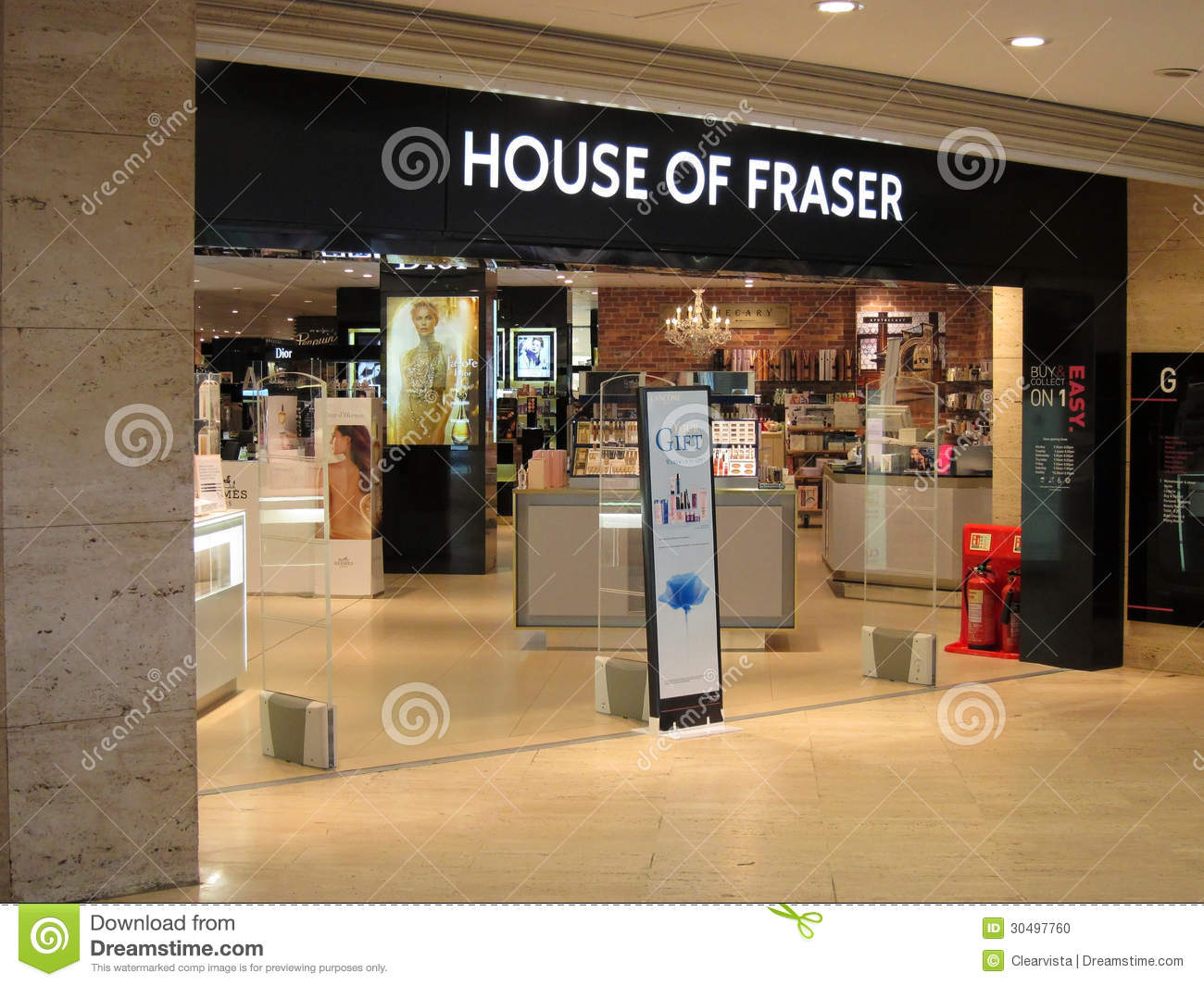 House of fraser store entrance editorial image image for Housse of fraser