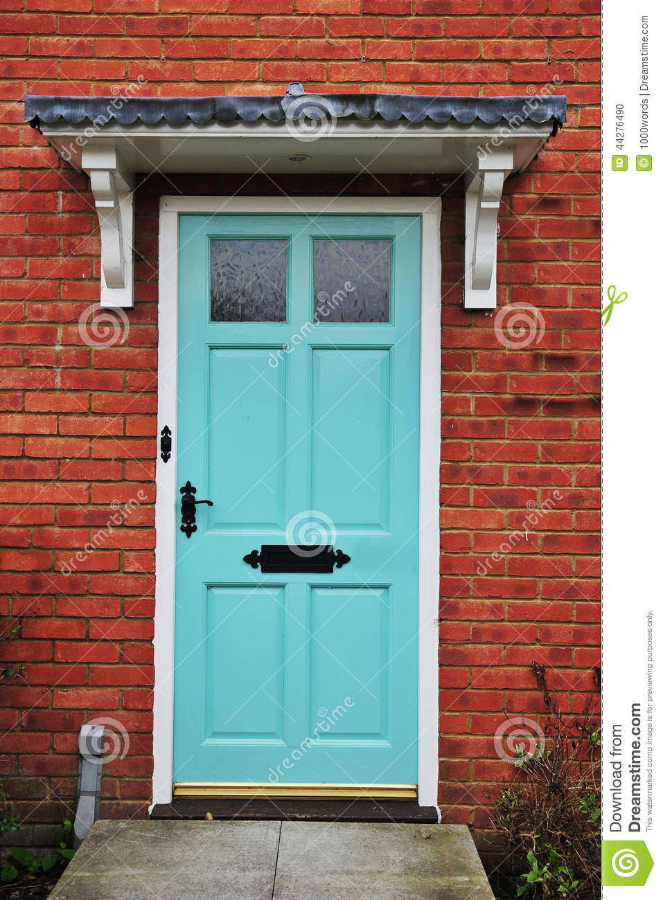 House Front Door Stock Photo Image Of England Built