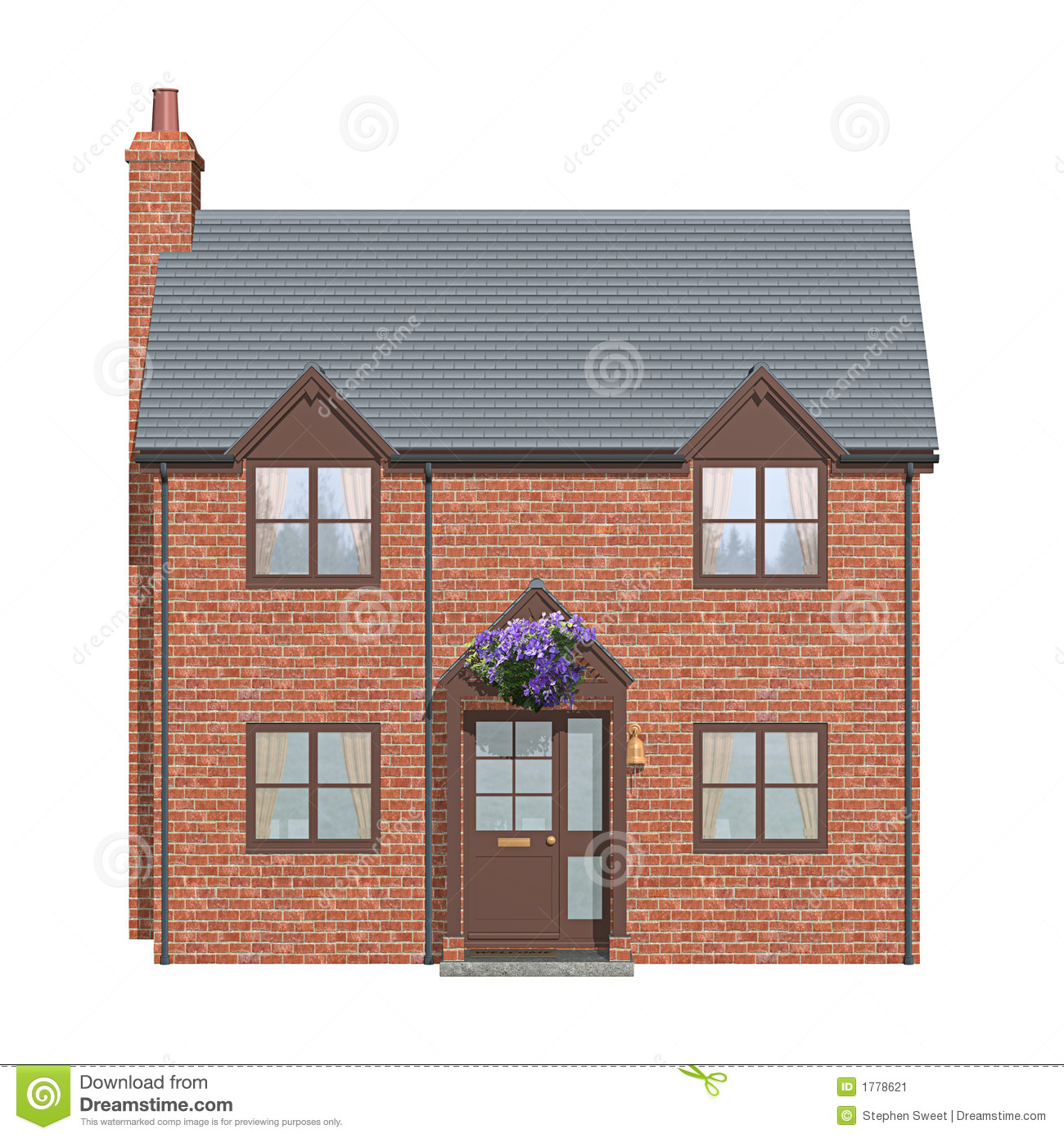 More similar stock images of ` House Front Elevation `